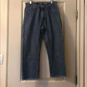 Cropped Levi's